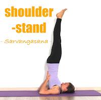 Tư thế trụ bằng hai vai (Shoulder stand pose)