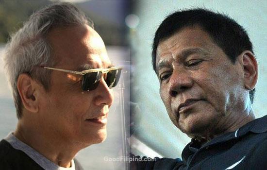 Paredes, netizen on Duterte's mother meme: 'Duterte's mom?'