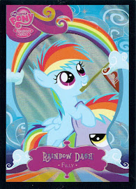 My Little Pony Rainbow Dash [Filly] Series 2 Trading Card