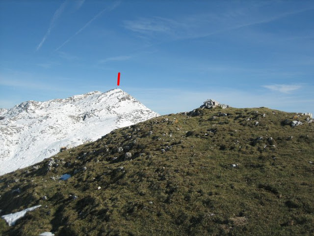 Rutas Montaña Asturias: Vista del Turbina desde la Llacia