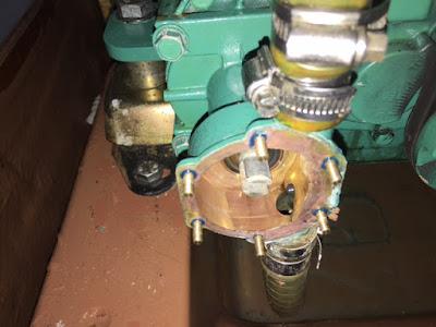 Impellerhis med PinWing pinneskruer montert