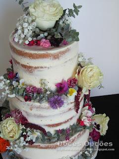 bolo flores naturais comestiveis bragança doces opções