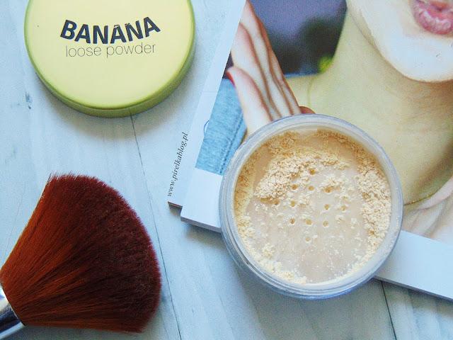Wibo, Banana Loose Powder - Sypki puder bananowy