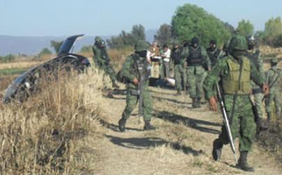 The Cartel War: Images of the Knights Templar Cartel Campsite