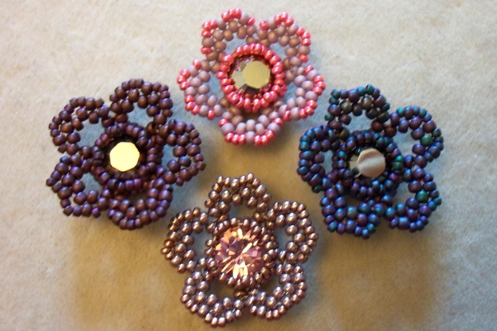 Beads By Becs Mrs Picklefish Designs Friday Flower Freebie