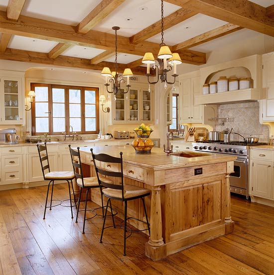 French country kitchen design ideas windows home and for House and garden kitchen design ideas