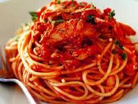 Resep Masakan Enak Spaghetti Dengan Saus Ikan Tuna
