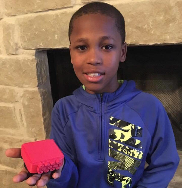 Little Boy Invents A Smart Device To Prevent Kids From Dying In Hot Cars After His Neighbor's Baby Died