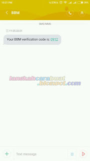 Buat Blackberry ID