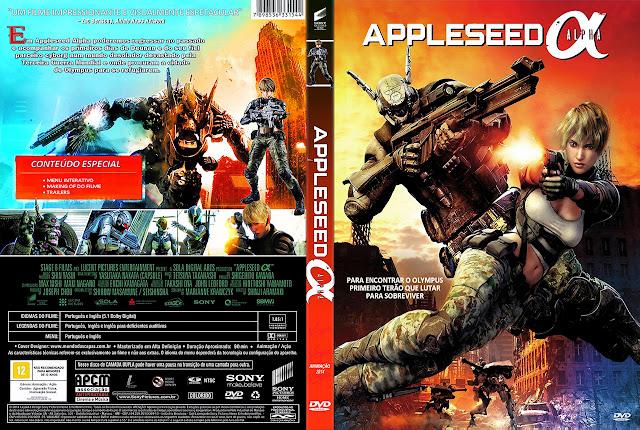 Capa DVD APLESEED ALPHA