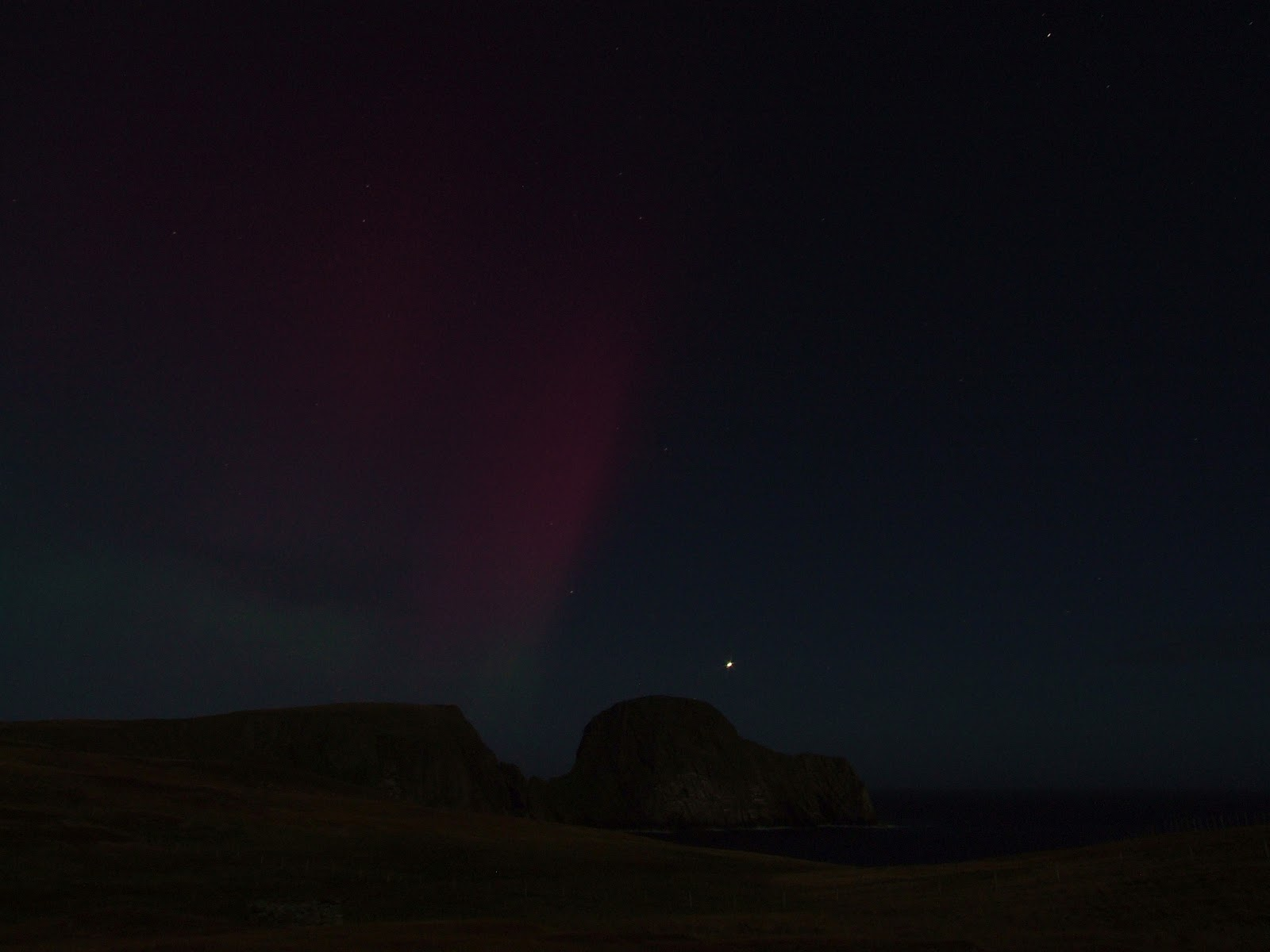 Fair Isle: Northern Lights, Aurora Borealis & Merry Dancers
