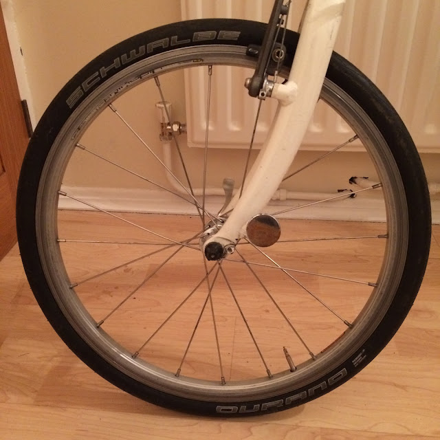 Schwalbe Durano P 20x1.10 fitted to Kinetix wheels