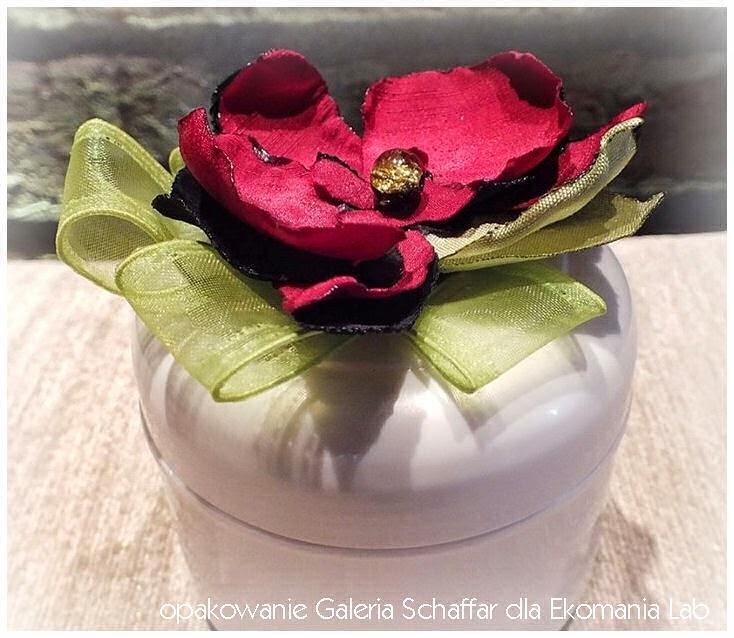 opakowanie słoik kwiat ozdobny orchidea storczyk galeria schaffar ekomania lab