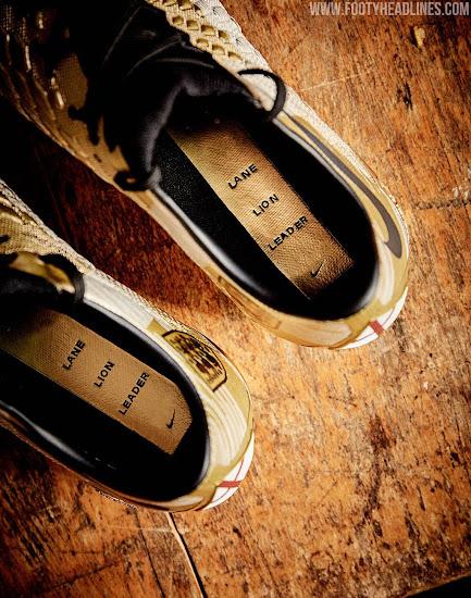 Gold Nike Hypervenom Harry Kane World Cup Top Scorer Boots ...