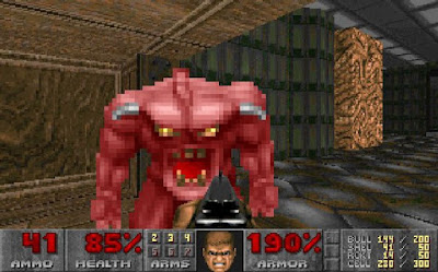 Pantallazo videojuego Doom