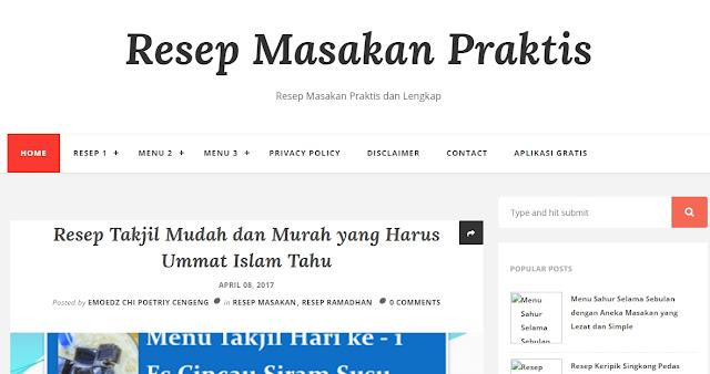Resep Masakan Praktis dan Mudah untuk Diterapkan www.anekaresepkita.xyz