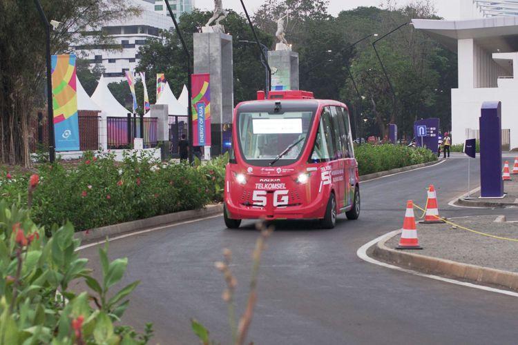 Mobil Listrik Tanpa Sopir dengan Teknologi 5G | Bisa Otomotif