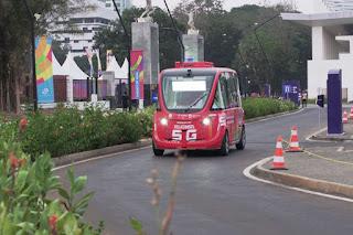 Mobil Listrik Tanpa Supir Dengan Teknologi 5G