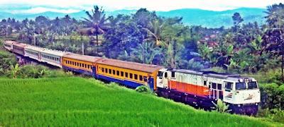 Kereta Pangrango Bogor Sukabumi