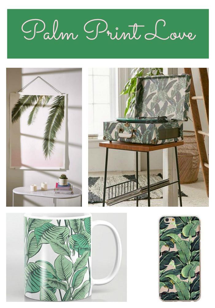 What I'm Loving- Palm Print Obsession