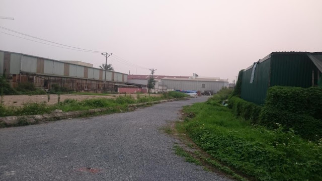 Thực địa dự án Rose Town 79 Ngọc Hồi với hạ tầng đang được hoàn thiện