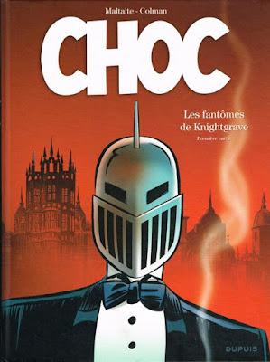 Choc, Les fantômes de Knightgrave premiere partie Dupuis