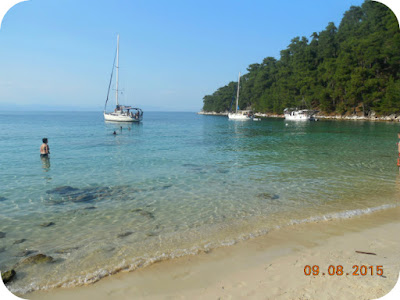 Vaty Beach in Thassos