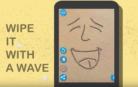 aplikasi android menggambar 3d di pasir