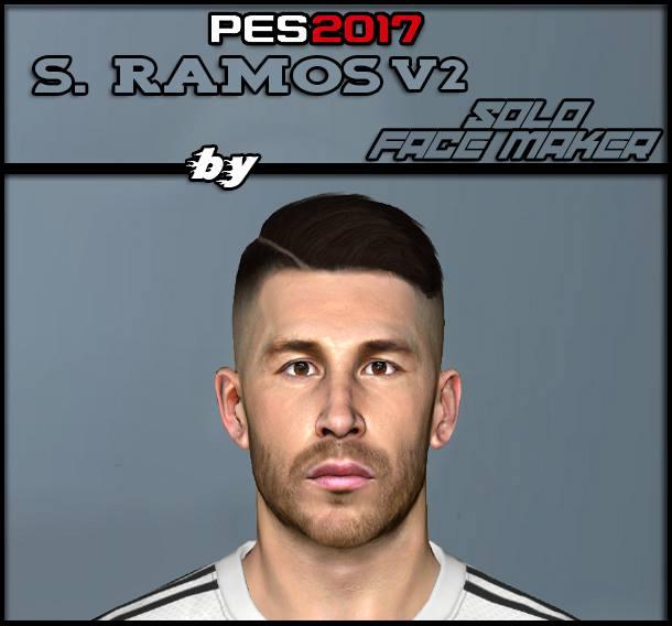 PES 2017 S. Ramos V2 face