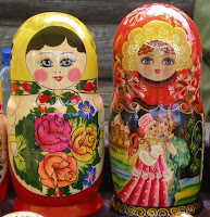 Russian Dolls in Irkutsk