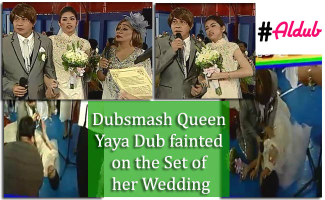 Dubsmash Queen Yaya Dub fainted on the Set of her Wedding