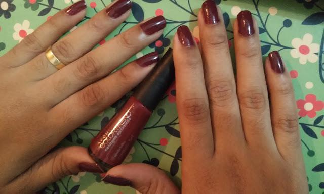 Achegue-se! Unhas da semana: Mensagem apaixonada - Avon Colortrend