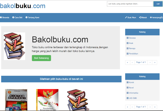 Download Source Code Toko Buku Open Source