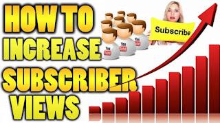 cara menambah subscriber
