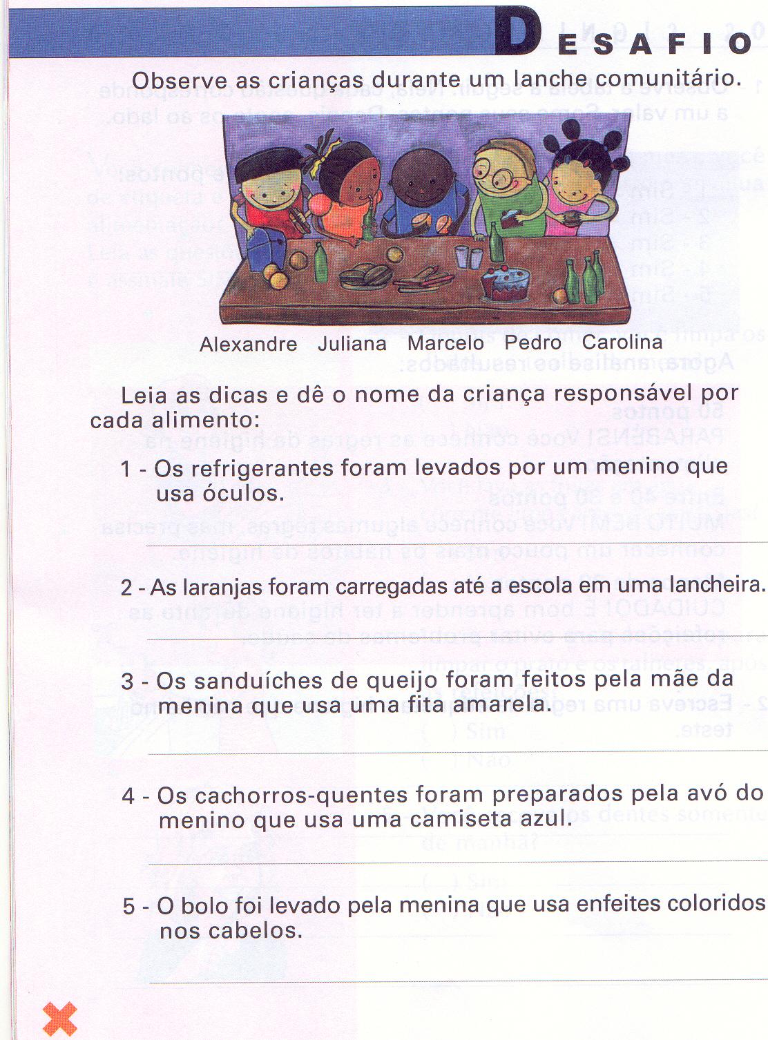 Atividades Educativas Redação para crianças
