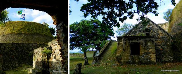 Interior do Forte dos Remédios, Fernando de Noronha