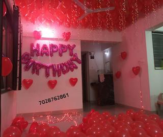 surprise decoration room