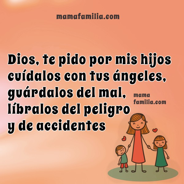 frases con oraciones por los hijos
