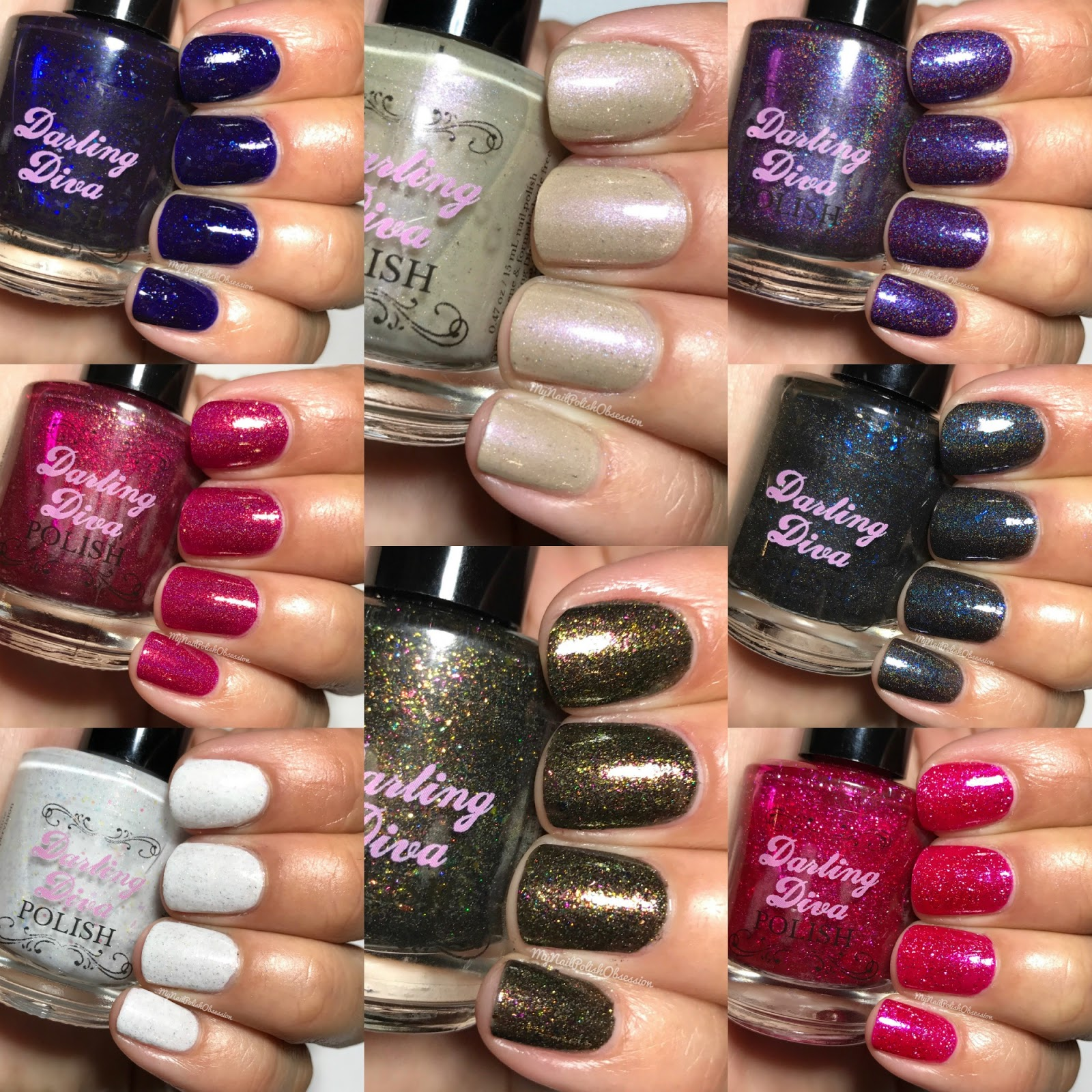 My Nail Polish Obsession: Darling Diva Polish BSC Collection; Fall 2016