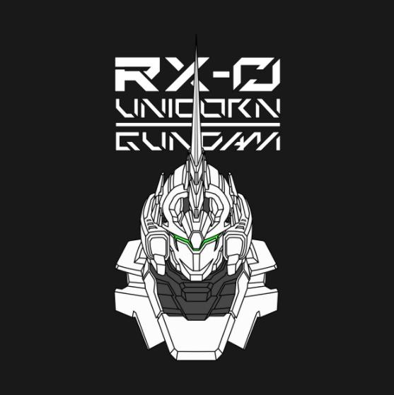 rx 0 unicorn gundam garistipis illustration rx 0 unicorn gundam garistipis