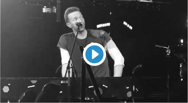 Banda Coldplay envía mensaje de apoyo a Venezuela en pleno concierto