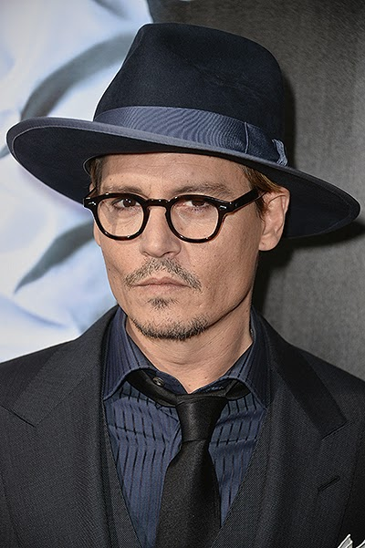 Johnny Depp at the premiere of '3 Days to Kill'