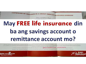 Life insurance is pricey, in fact there are only few Filipinos who care to secure themselves with life insurance. But do you know that there are some banks in the Philippines that offers FREE life insurance when you choose to open an account with them?