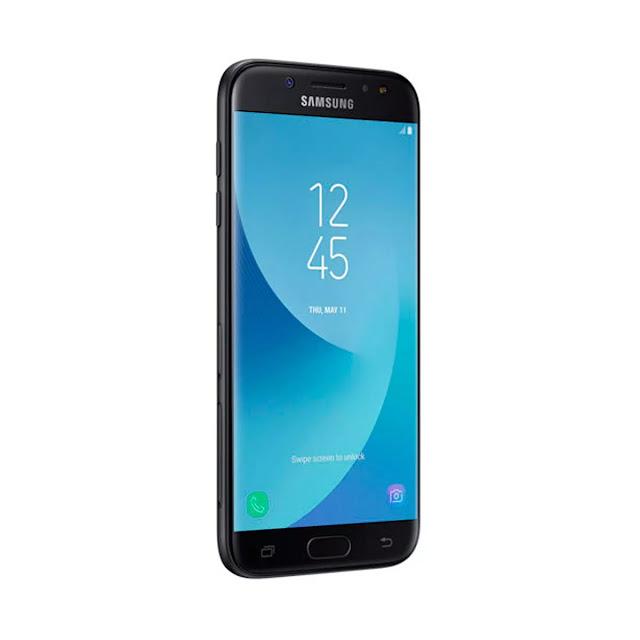 Samsung Galaxy J5 conta com um incrível acabamento metálico uniforme com câmera nivelada para melhor manuseio e vidro