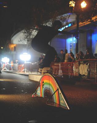 Galactic G Skateboarding Downtown Orlando