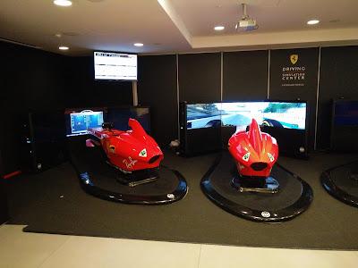 Simulatori di guida Ferrari