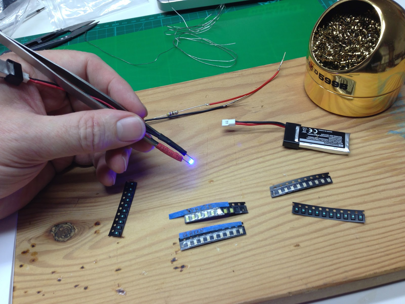 Simple Smd Led Tester