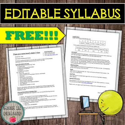 Editable Syllabus