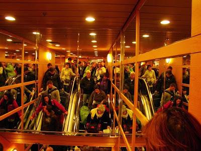 Viaje en ferry Atenas Santorini