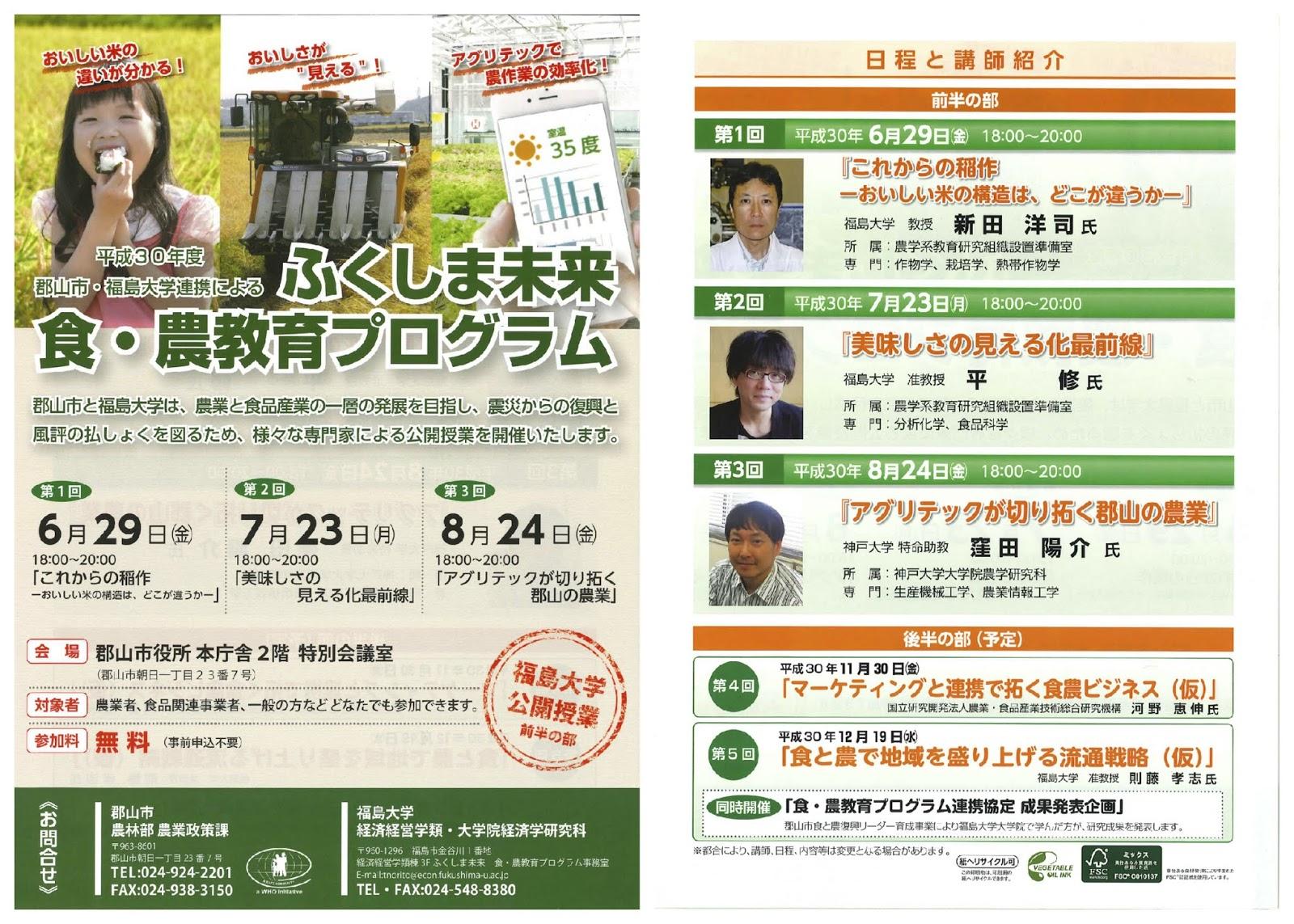 福島大学 経済経営学類・経済学...
